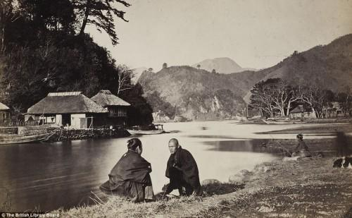Photography by Wilhelm Burger 1869 near Yokohama Japan