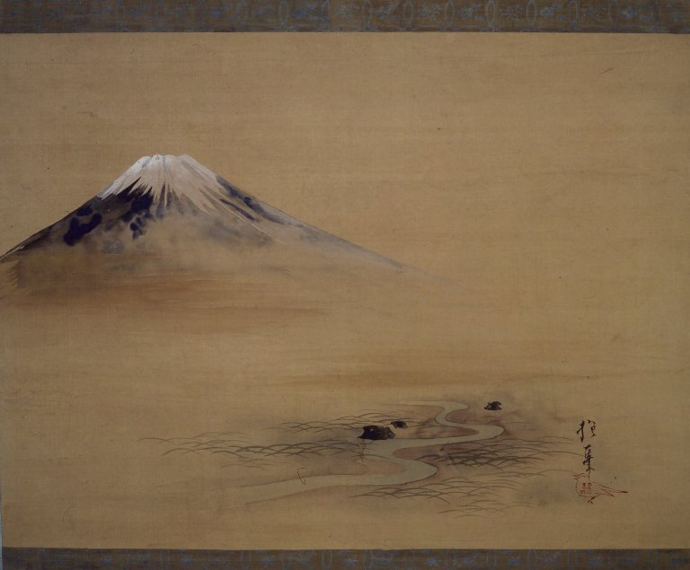 Brooklyn_Museum_-_Painting_of_Mount_Fuji