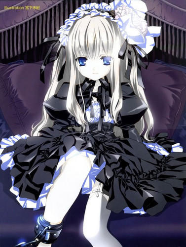 Cute-gothic-lolita-anime-girl-anime