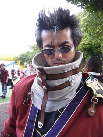 final fantasy cosplay Auron_cosplay