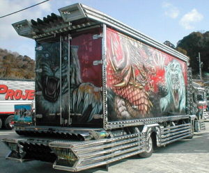 Dekotora - Decorated Truck