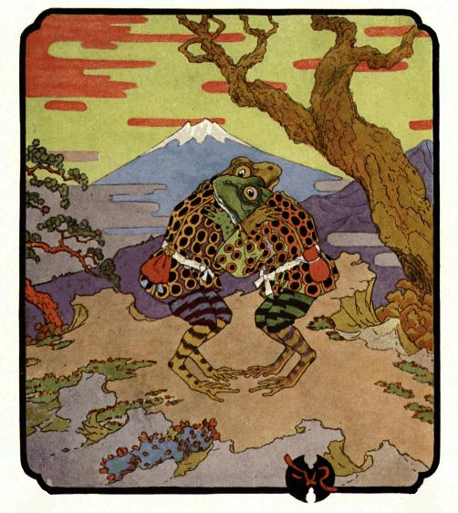 The Two Frogs: A Japanese Folktale - Japan Powered