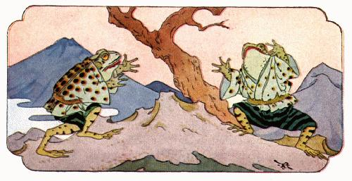 Two Frogs - Japanese Folktale