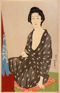Woman in Summer Garment. Goyo Hashiguchi. c. 1920